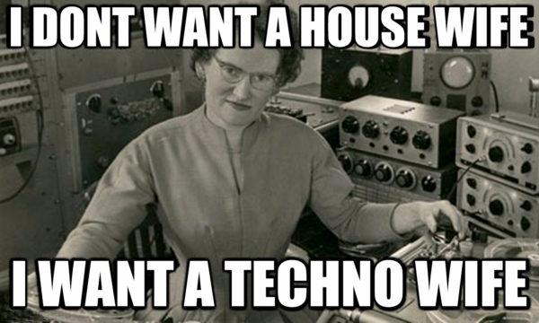 Techno Wife Meme